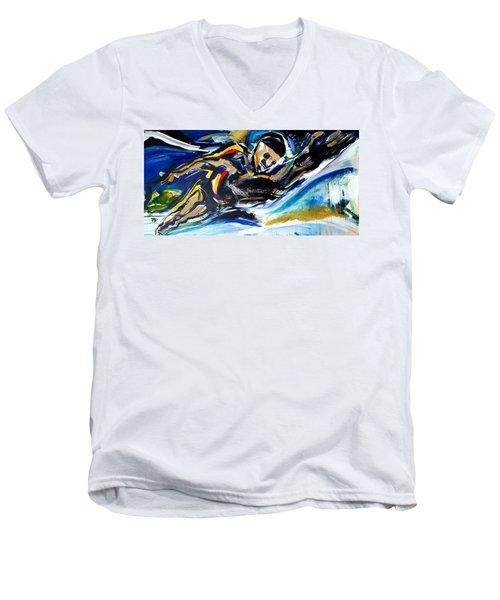 Him Swim Men's V-Neck T-Shirt