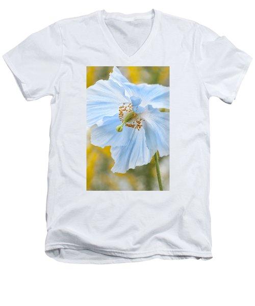 Himalayan Poppy Men's V-Neck T-Shirt