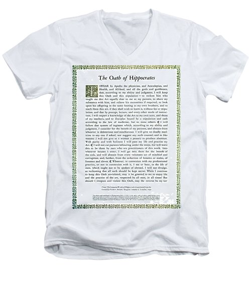 Hippocratic Oath, 1938 Men's V-Neck T-Shirt