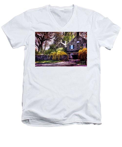 Historic 1889 Home Men's V-Neck T-Shirt