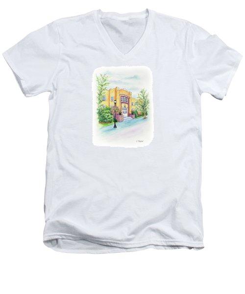 Historic Armory Men's V-Neck T-Shirt
