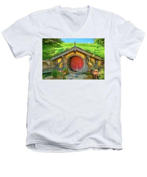 Hobbit House Men's V-Neck T-Shirt