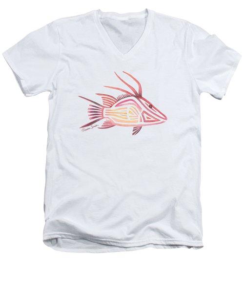 Hogfish Men's V-Neck T-Shirt