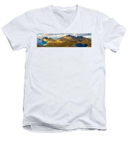 Holandsmelen North Men's V-Neck T-Shirt