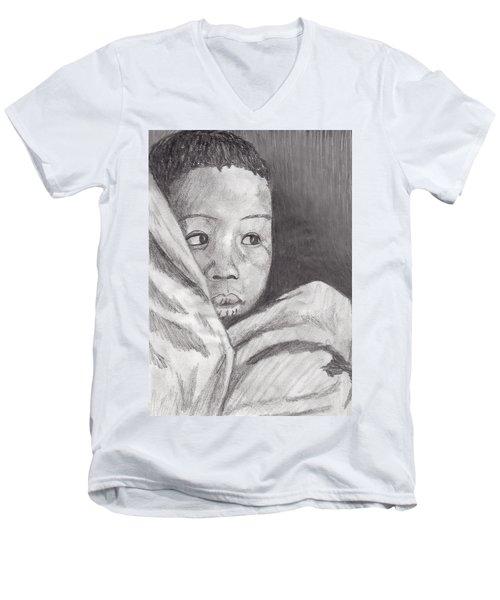 Hold Me Mom Men's V-Neck T-Shirt