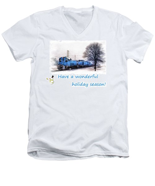 Holiday Train Men's V-Neck T-Shirt
