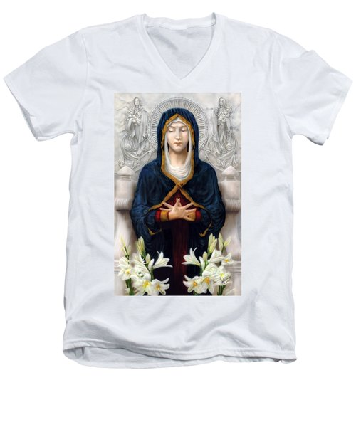 Holy Woman Men's V-Neck T-Shirt
