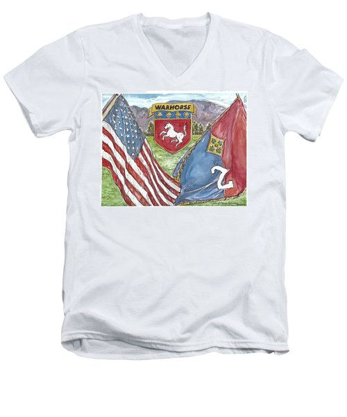 Homage To 2-4 Men's V-Neck T-Shirt