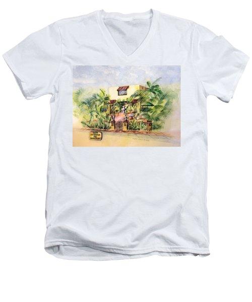 Home On Belmont Shore Men's V-Neck T-Shirt