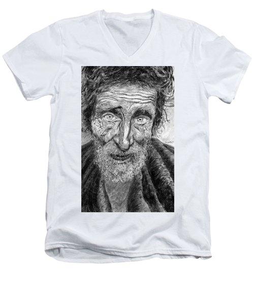 Homeless Mr. Craig Men's V-Neck T-Shirt