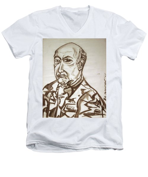 Homme Militaire Men's V-Neck T-Shirt