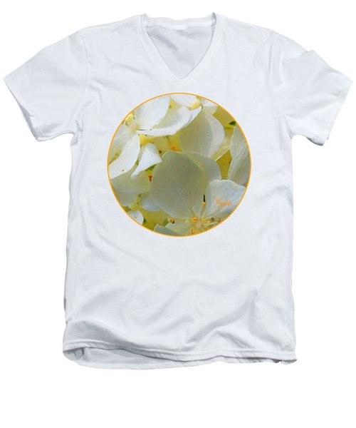 Honeysuckle Blossoms Men's V-Neck T-Shirt