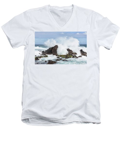Hookipa Point Men's V-Neck T-Shirt