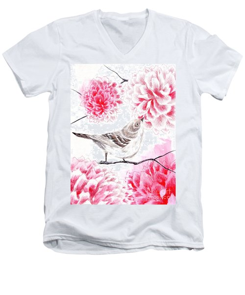 Hop To It Men's V-Neck T-Shirt