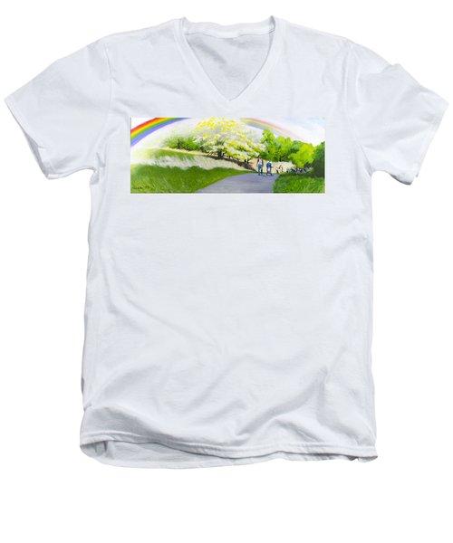 Hopeful Sojourn Men's V-Neck T-Shirt