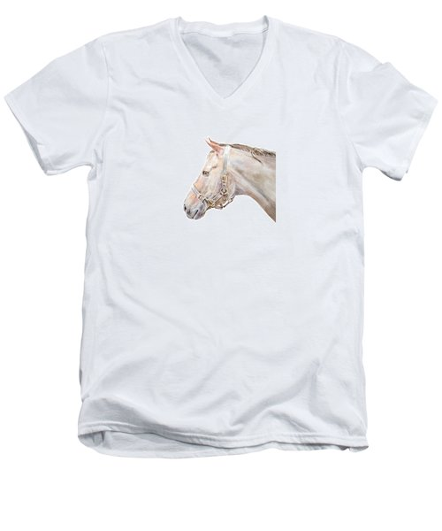 Horse Portrait I Men's V-Neck T-Shirt