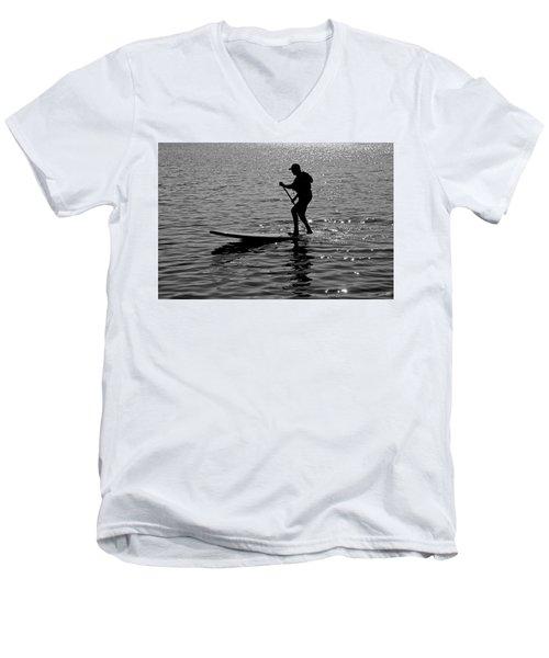 Hot Moves On A Sup Men's V-Neck T-Shirt