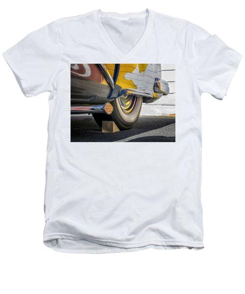 Hot Rod Realities Men's V-Neck T-Shirt by Gary Warnimont