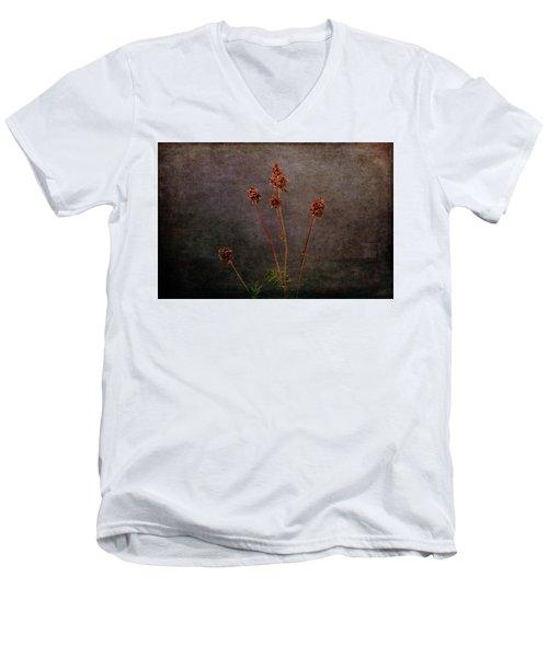 Men's V-Neck T-Shirt featuring the photograph Hot Summer Victims by Randi Grace Nilsberg