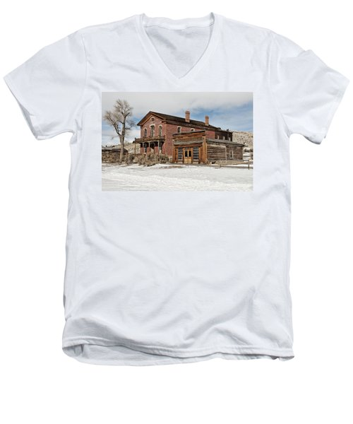 Hotel Meade And Saloon Men's V-Neck T-Shirt
