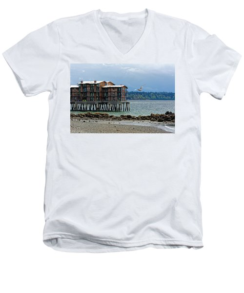 House On Stilts Men's V-Neck T-Shirt