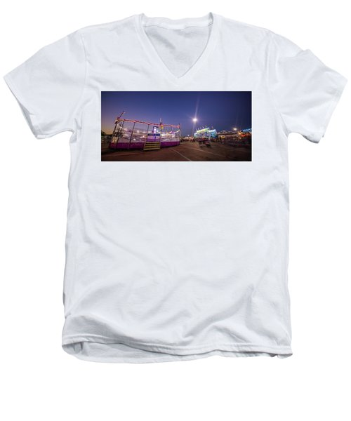 Houston Texas Live Stock Show And Rodeo #12 Men's V-Neck T-Shirt by Micah Goff
