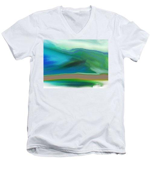 How It Feels Men's V-Neck T-Shirt by Lenore Senior