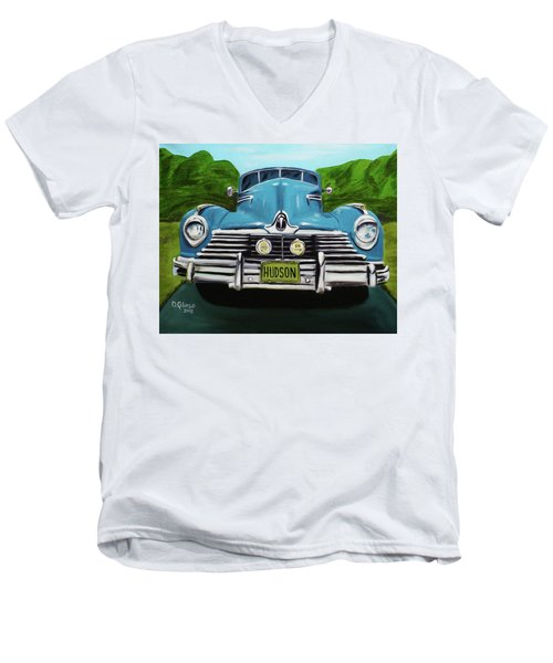 Hudson Blue Men's V-Neck T-Shirt