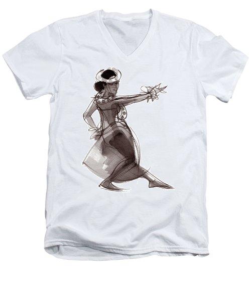 Hula Dancer Keala Men's V-Neck T-Shirt