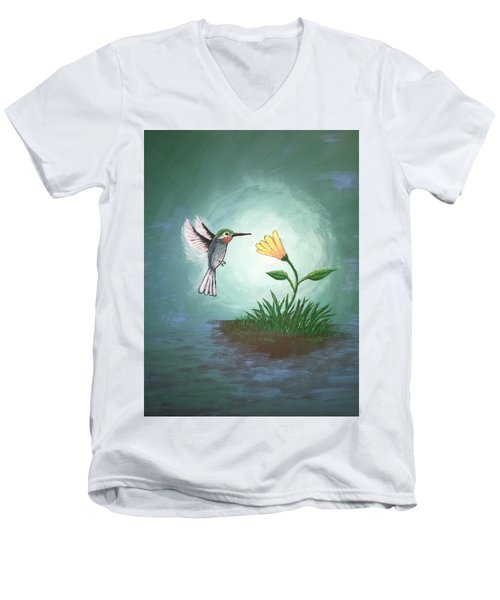 Hummingbird II Men's V-Neck T-Shirt