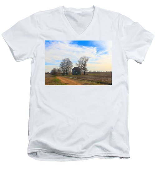 Hwy 8 Old House 2 Men's V-Neck T-Shirt
