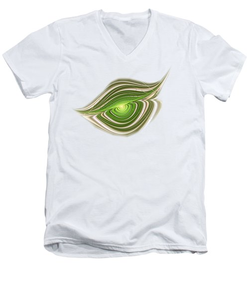 Hypnotic Eye Men's V-Neck T-Shirt by Anastasiya Malakhova
