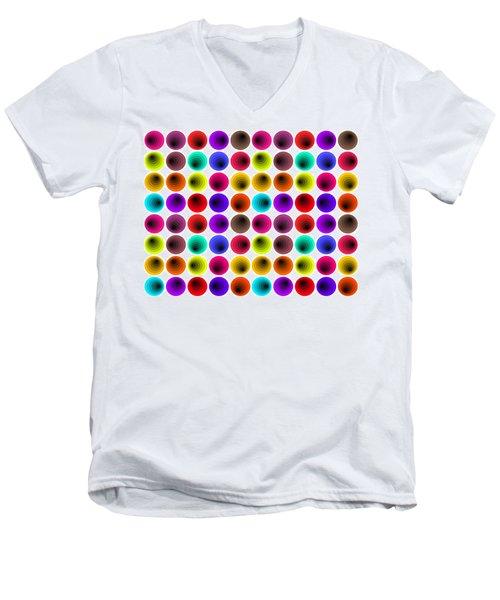 Hypnotized Optical Illusion Men's V-Neck T-Shirt