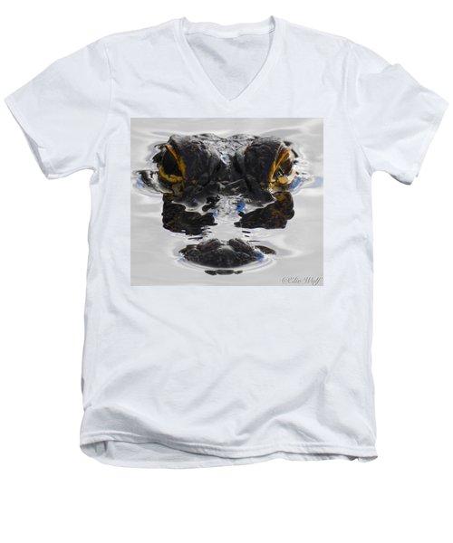 I Am Gator Men's V-Neck T-Shirt