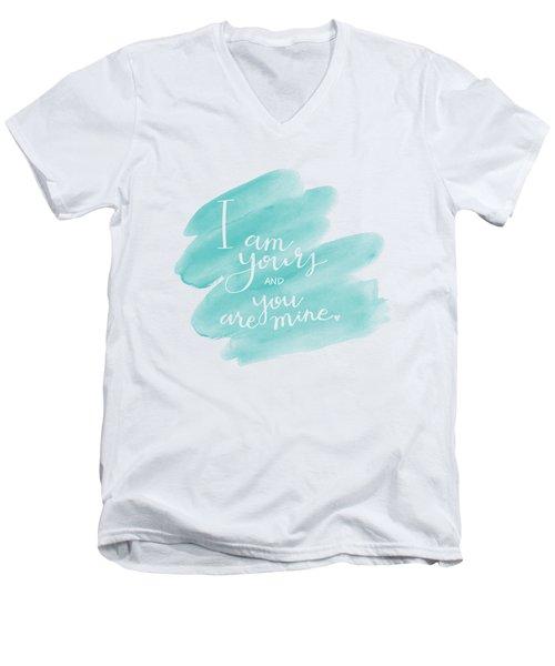 I Am Yours Men's V-Neck T-Shirt