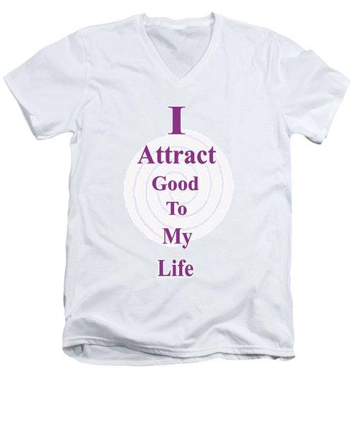 I Attract Men's V-Neck T-Shirt