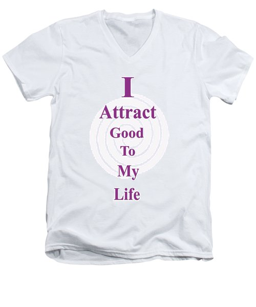 I Attract Men's V-Neck T-Shirt