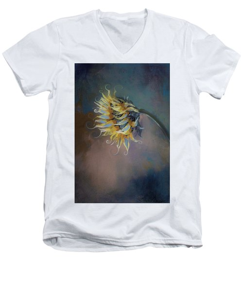 I Feel Like A Sunflower Painting Men's V-Neck T-Shirt