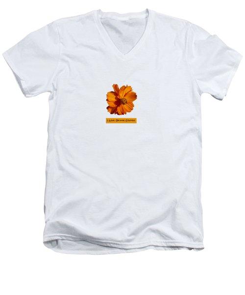 I Love Orange Cosmos 2018-1 Men's V-Neck T-Shirt