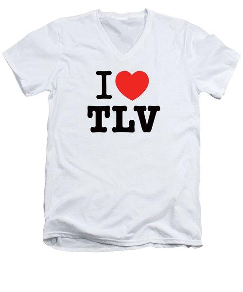 i love TLV Men's V-Neck T-Shirt