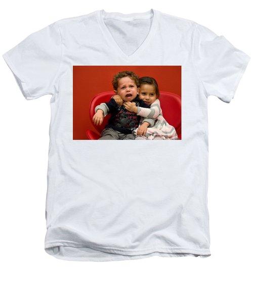 I Love You Brother Men's V-Neck T-Shirt