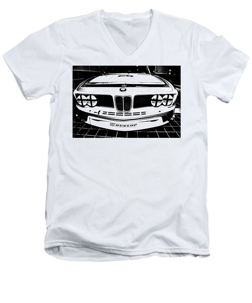 Men's V-Neck T-Shirt featuring the photograph I M S A  G T O by John Schneider