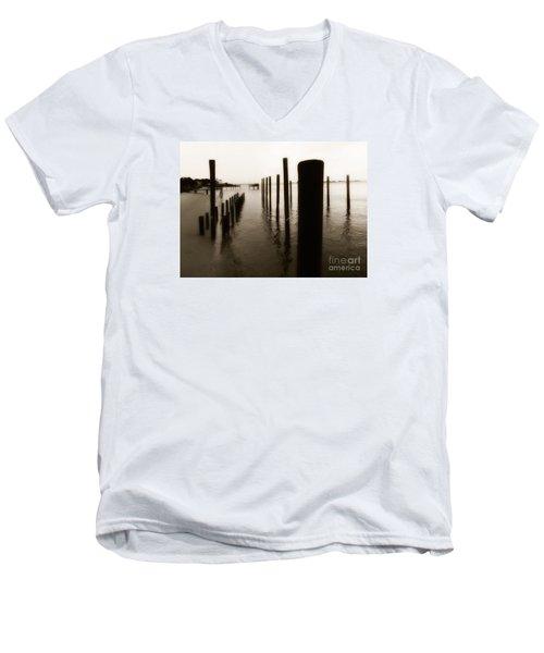 I Miss You  Men's V-Neck T-Shirt by Christy Ricafrente