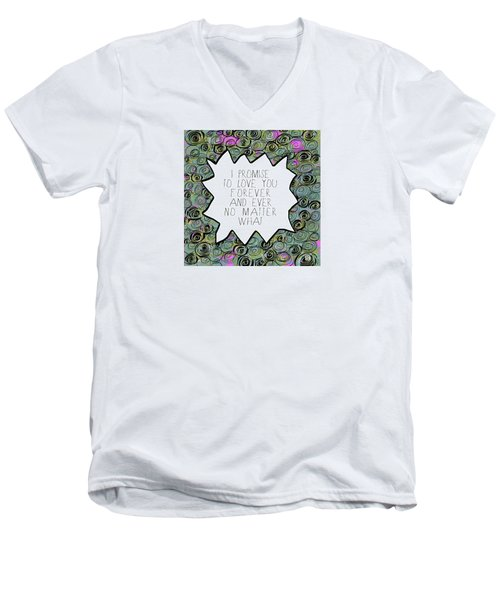 I Promise Men's V-Neck T-Shirt