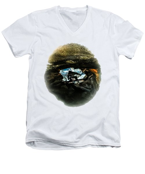 I Seen The Yeti Men's V-Neck T-Shirt by Gary Keesler