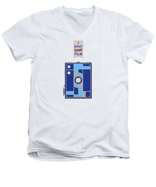 I Shoot Film Men's V-Neck T-Shirt