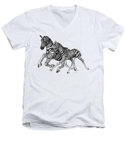 I Will Take You Home Men's V-Neck T-Shirt by Betsy Knapp