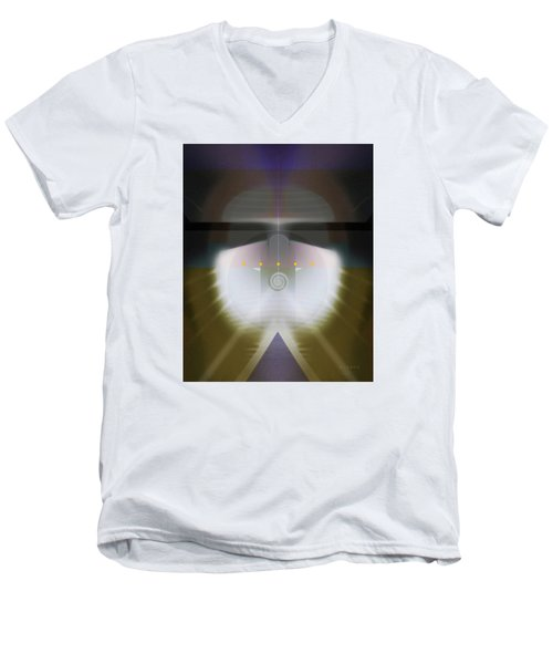 I Wish I Was A Headlight On A Northbound Train Men's V-Neck T-Shirt