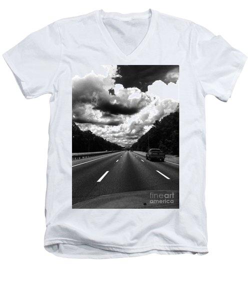 I95 Clouds Men's V-Neck T-Shirt