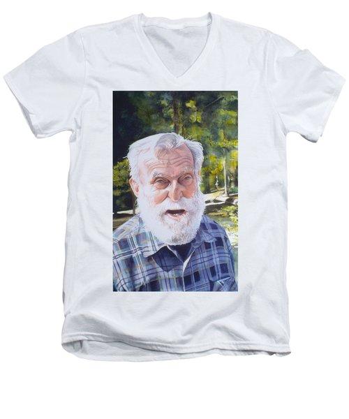 Ian Men's V-Neck T-Shirt